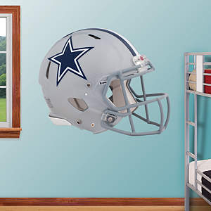 Dallas Cowboys Helmet Fathead Wall Decal